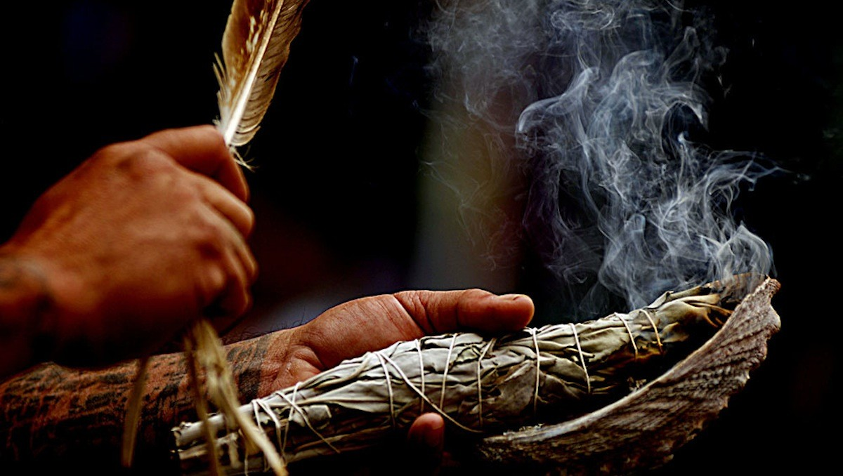The Art Of Smudging - A Shamanic Cleansing Ritual - The Sacred